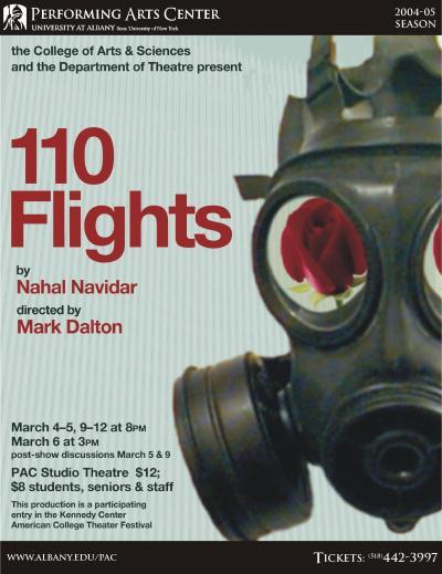 110 Flights Poster